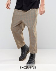 Reclaimed Vintage Relaxed Trousers Brown