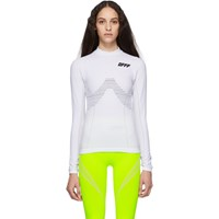 Off White Athletic Long Sleeve T Shirt