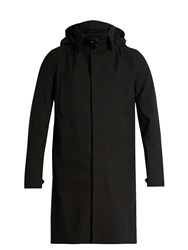 Norwegian Rain Single Breasted Technical Coat Black