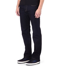 Armani Jeans Regular Fit Straight Jeans Indigo