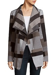 French Connection Multi Patterned Jacket Grey Multi