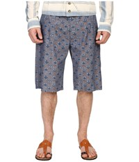 Vivienne Westwood Anglomania Bob Shorts Blue Navy