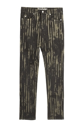 Mcq By Alexander Mcqueen Printed Jeans