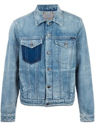 Calvin Klein Jeans Chest Pockets Denim Jacket Blue