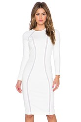 Aq Aq Discipline Midi Dress Cream
