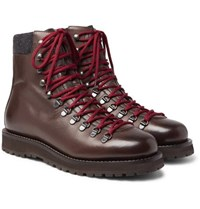 Brunello Cucinelli Leather Boots Brown