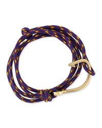 Hook Rope Bracelet Purple Miansai