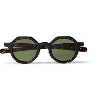 Max Pittion Diplomat Round Frame Tortoiseshell Acetate Optical Glasses Tortoiseshell