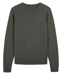 Jaeger Men's Cashmere Crew Neck Sweater Olive