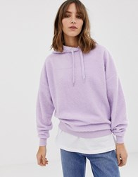 New Look Hoody In Lilac Purple