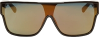 3.1 Phillip Lim Black And Bronze Mirror Sunglasses