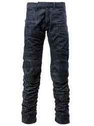 G Star Raw Research Stitched Panel Jeans Blue