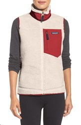 Patagonia Women's Classic Retro X Fleece Vest Natural