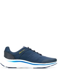 Paul Smith Ps Side Logo Low Top Sneakers Blue