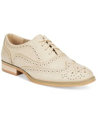 Wanted Babe Lace Up Oxfords Women's Shoes Natural