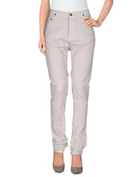 Rick Owens Drkshdw By Casual Pants Light Grey
