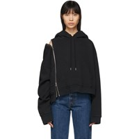 Maison Martin Margiela Black Multi Wear Zip Hoodie
