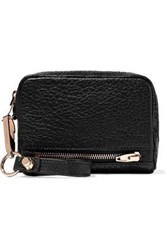 Alexander Wang Textured Leather Wallet Black