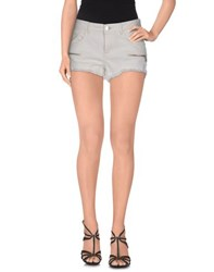 Guess Denim Denim Shorts Women White