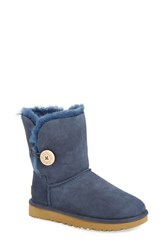 Uggr Women's Ugg 'Bailey Button Ii' Boot Navy Suede