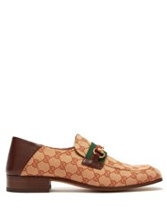 Gucci Donnie Gg Supreme Loafers Beige