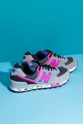 New Balance 90'S Outdoor Running Shoes Grey Pink