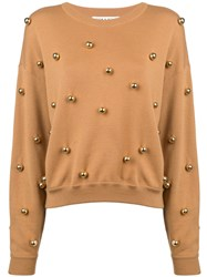 Alice Olivia Gleeson Jumper Brown