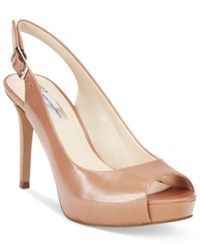 Inc International Concepts Gilas Peep Toe Platform Pumps Only At Macy's Women's Shoes Honey