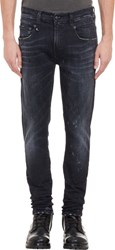 R 13 R13 Men's Boy Jeans Black
