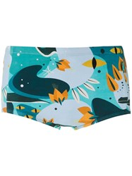 Lygia And Nanny Ipanema Printed Trunks 60