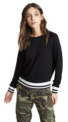 Lna Roller Coaster Sweatshirt Black
