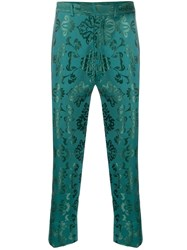 Ann Demeulemeester Brocade Embroidery Trousers 60