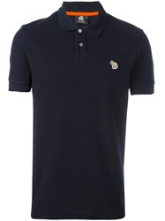 Paul Smith Ps By Shortsleeved Polo Shirt Blue