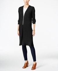 Styleandco. Style Co. Ribbed Duster Cardigan Only At Macy's Deep Black