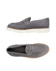 Alberto Guardiani Loafers Grey