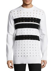 Diesel Black Gold Brushed Knitted Sweater Snow White