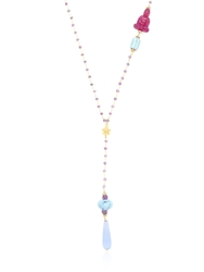 Katerina Psoma Rosary Necklace Purple