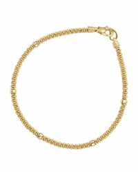 Lagos 3Mm Medium 18K Gold Caviar Rope Bracelet