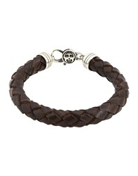 Manuel Bozzi Bracelets Dark Brown
