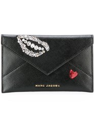 Marc Jacobs Vintage Collage Clutch Bag Black