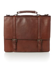 Howick Smart Mahogony Business Bag Brown