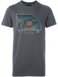 Blood Brother 'Handycam' T Shirt Grey