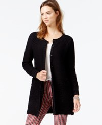 Sanctuary Garden City Long Sleeve Sweater Coat Black
