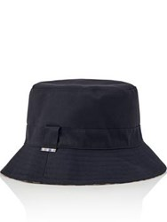 Aquascutum London Reversible Bucket Hat Navy