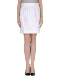 Ermanno Scervino Scervino Street Knee Length Skirts White
