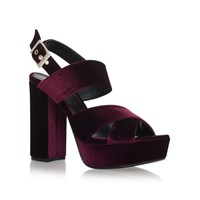 Carvela Gorgeous High Heel Sandals Red