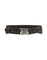 Gold Case Belts Dark Brown