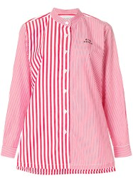 Etre Cecile Striped Shirt Red