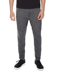 2Xist 2 X Ist Terry Zip Cuff Lounge Sweatpants Black Heather