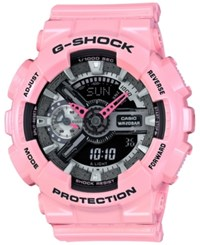 G Shock Women's Analog Digital Pink Bracelet Watch 49X46mm Gmas110mp 4A2